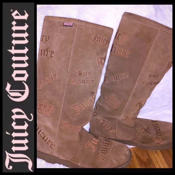 Juicy Couture Other - AUTHENTIC Juicy Couture Suede Boots 𗁯👢 𗁯